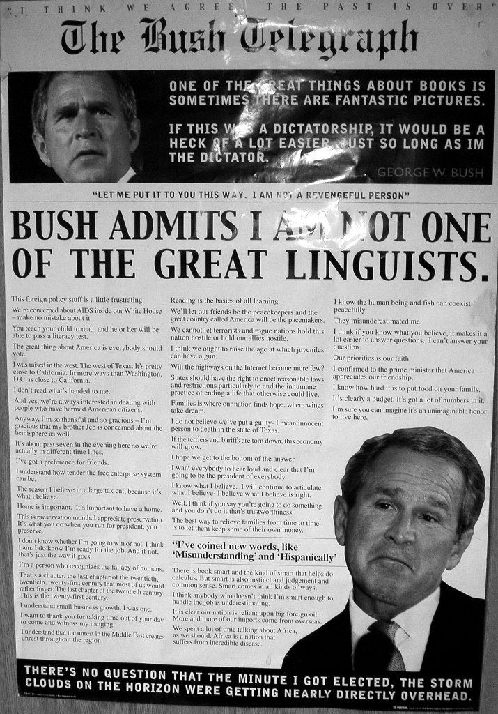 Bush's speaches